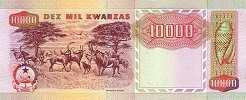 Ангола: 10000 кванз 1991 г.