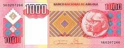 Ангола: 1000 кванз 2003-11 г.
