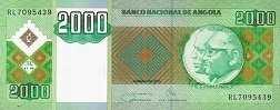 Ангола: 2000 кванз 2003-11 г.