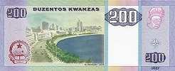Ангола: 200 кванз 2003-11 г.