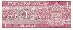 Нидерландские Антилы: 1 гульден 1970 г.