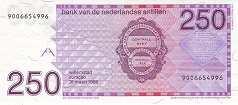 Нидерландские Антилы: 250 гульденов 1986 г.