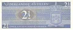 Нидерландские Антилы: 2 1/2 гульдена 1970 г.