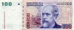 Аргентина: 100 песо (2003-12 г.)