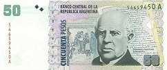 Аргентина: 50 песо (1999-2003 г.)