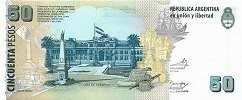Аргентина: 50 песо (2003-13 г.)