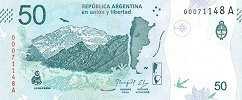Аргентина: 50 песо (2018 г.)