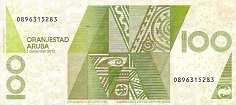 Аруба: 100 флоринов 2003-12 г.