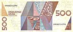 Аруба: 500 флоринов 2003 г.