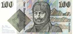 Австралия: 100 долларов (1984-92 г.)