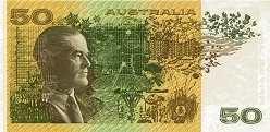 Австралия: 50 долларов (1974-94 г.)