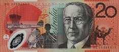 Австралия: 20 долларов (2002-13 г.)