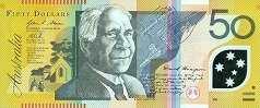 Австралия: 50 долларов (2002-13 г.)
