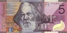 Австралия: 5 долларов 2001 г. (юбилейная)