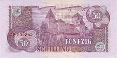 Австрия: 50 шиллингов 1962 г.