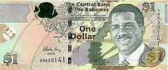 Багамы: 1 доллар 2015 г.