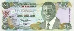 Багамы: 1 доллар 2001 г.