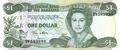 Багамы: 1 доллар 2002 г.