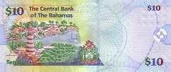 Багамы: 10 долларов 2005 г.