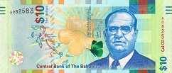 Багамы: 10 долларов 2016 г.