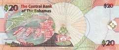 Багамы: 20 долларов 2006 г.