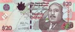 Багамы: 20 долларов 2006-10 г.