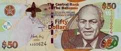Багамы: 50 долларов 2012 г.