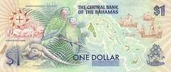 Багамы: 1 доллар 1992 г. (юбилейная)
