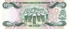 Багамы: 1 доллар 1974 (1984) г. (подпись 2)