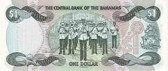 Багамы: 1 доллар 1974 (1984-2002) г.