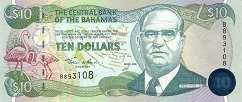 Багамы: 10 долларов 2000 г.