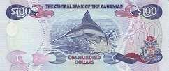 Багамы: 100 долларов 2000 г.