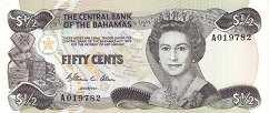 Багамы: 50 центов 1974 (1984) г.