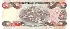 Багамы: 20 долларов (1993 г.)