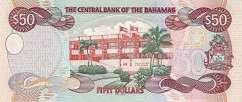 Багамы: 50 долларов 2000 г.