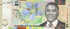 Багамы: 1 доллар 2017 г.