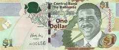 Багамы: 1 доллар 2008-15 г.