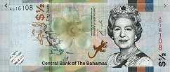 Багамы: 1/2 доллара 2019 г.