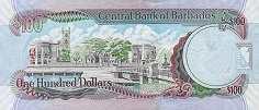Барбадос: 100 долларов 2007-12 г.