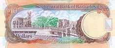 Барбадос: 10 долларов 2007-12 г.