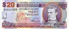 Барбадос: 20 долларов 2007 г.