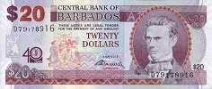 Барбадос: 20 долларов 2012 г. (юбилейная)