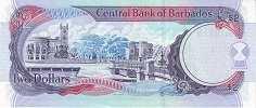Барбадос: 2 доллара 2007-12 г.