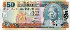 Барбадос: 50 долларов 2007-12 г.