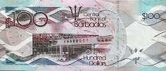 Барбадос: 100 долларов 2013-16 г.