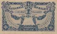 Бельгия: 1 франк 1920 г.