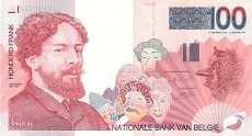 Бельгия: 100 франков (1995 г.)