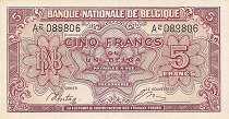 Бельгия: 5 франков 1943 г.