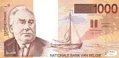 Бельгия: 1000 франков (1997 г.)
