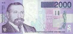 Бельгия: 2000 франков (1994 г.)